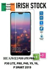 HUAWEI P20 P30 P40 LITE PRO Y6 Y9 P SMART 2019 Tempered Glass Screen Protector