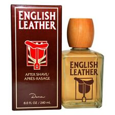 ENGLISH LEATHER MEN by DANA HUGE 8/8.0 oz (236 ml) After Shave Lotion NEW SEALED