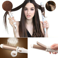 Useful Wet&Dry Ion Ceramic Cone Head Steam Hair Straightener Curling Tools