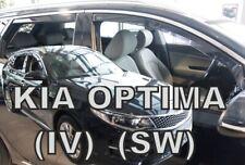 KIA OPTIMA JF IV  2016 -  5.doors  SW / ESTATE  Wind deflectors 4.pc HEKO 20184