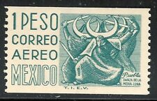 pa136 Mexico Arquite MNH paper 4 Sc#C349 Mc#1030llXEy Et#aa136 coil-stamp