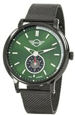 MINI Back to Basic SS2018 Green Dial Stainless Steel Mens Watch 160920 £149