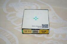 filtre hoya yellow K2 35.5mm de diam