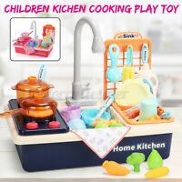 Childrens Kids Kichen Cooking Play Toy Infant Baby Pretend Toy Gift