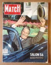 Paris Match n°391  06/10/1956  Salon 56 Maurice Chevalier
