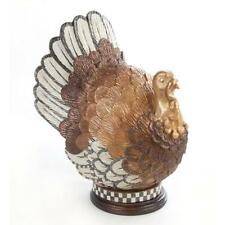 Brand new Mackenzie Childs Large Autumn Harvest Turkey Thanksgiving