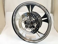 21 x 3.25 HARLEY DAVIDSON ROAD GLIDE CHROME REAPER WHEEL With ABS & ROTORS