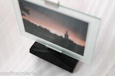 Cadre photo 10x15 vintage entre deux verre à poser transparent minimal classieux
