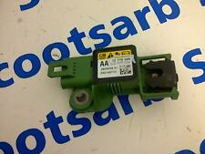 Saab 9-3 93 1x Crash Sensor de detección de colisión 2008 - 2010 12778699 unidad verde