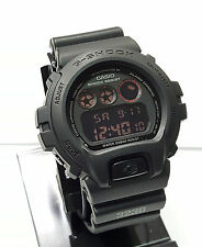 G SHOCK DW6900MS-1 Black MILITARY DW6900MS Negative Display NEW with Box DW6900