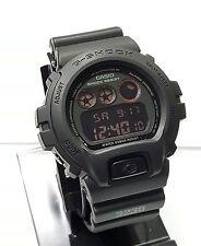 G SHOCK DW6900MS-1 Black MILITARY DW6900MS Negative Display NEW with Box DW6900