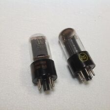 RCA 6V6GTA and Westinghouse 6V6GT branded Voice of Music