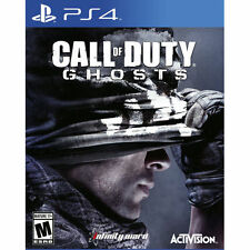 CALL OF DUTY GHOSTS FOR PS4 PLAYSTATION 4 BRAND NEW IN WRAPPER NO RESERVE