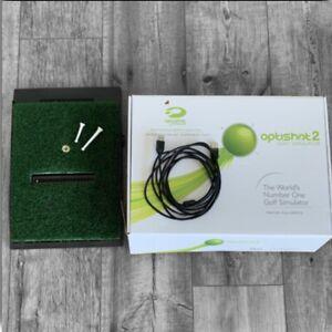 OptiShot 2 SwingPad Golf Simulator