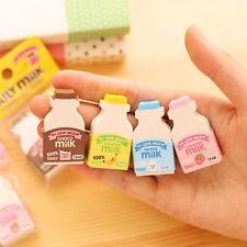 Nettes Milchflaschen-Karikatur-Radiergummi-Briefpapier Kinder Geschenk·Spielzeug