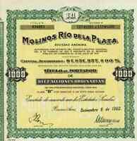 Molinos Río de la Plata 1962 Buenos Aires Bunge y Born Antwerpen Bermuda Pérez #