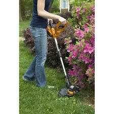 Cordless String Trimmer Lawn Edger Yard Grass Cutter Electric Weed Wacker Eater