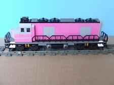 New Custom Train City Engine Built w/ New Lego Bricks fits 9V RC IR Track Sets