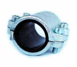 """1/2"""" - 4""""  BSP Malleable Pipe Repair Clamp Fittings for Steel Pipes Leak Fix"""
