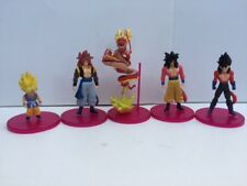 """5 x Dragon Ball Figures 4"""" to 6"""" Brand New with stand"""