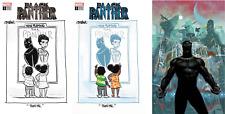 "(2018) BLACK PANTHER #1 + Tom Beland Color & B/W ""THAT'S ME"" Variant Cover Set!"