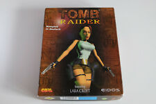 Tomb Raider 1 PC CD-ROM Spiel Game Videospiel Lara Croft OVP Big Box