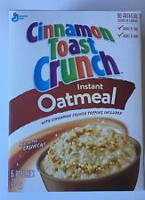 Cinnamon Toast Crunch Oatmeal Limited Edition Imported Canada SHIPS FROM USA NEW