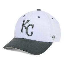 Kansas City Royals MLB MVP 2-Tone White Gray Cap Hat Adjustable Baseball Mens KC