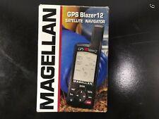 MAGELLAN BLAZER 12 HANDHELD WATERPROOF HIKING GPS (USED) HUNTING FISHING