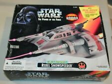 Sealed Star Wars POTF Electric Rebel Snowspeeder HOTH 1995 ESB  MISB MISP NOS