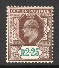 Colony Postage Ceylon Stamps (Pre-1948)