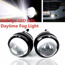2X 6000K White Highlight fog lights reverse lamp Bull Eye LED Projector Light