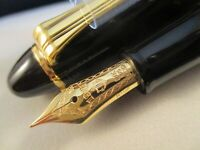 SAILOR 1911 Profit Standard Black & Gold trim Finished 21k gold M nib Japan