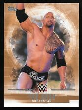 2017 Topps WWE Undisputed Bronze Parallel #29 The Rock #68/99