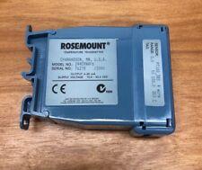Rosemount 244er Temperature Transmitter 0 100 Degrees C 244ernaf6 Pt100385