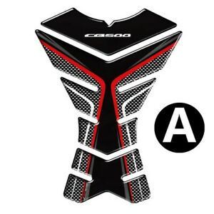 For HONDA CB500 / CB500X / CB500F Motorcycle 3D Tank Pad Grip Stickers Protector