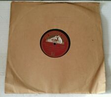 VERY RARE ROYAL MARINES BAND PLYMOUTH DIVISION 'HIS MASTER'S VOICE' 78rpm RECORD