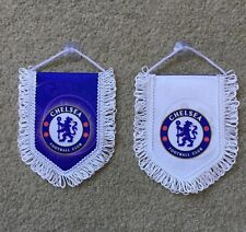Chelsea FC Mini Flag / Pennant (12cm x 15cm) Great For Car / Home /Office Use