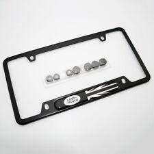 For Land Rover Brand New License Frame Plate Cover Black