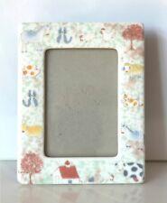 CHILD's PHOTO FRAME Ceramic New Never Used Xmas gift