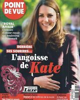 Point De Vue Magazine Kate Middleton Van Cleef and Arpels Jewels Royal Affair