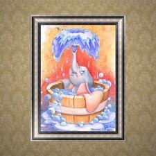 DIY Elephant 5D Diamond Embroidery Rhinestone Painting Cross Stitch Decor Gift