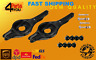 2X FORD FOCUS MK1 MK2 C-MAX REAR SUSPENSION WISHBONE ARMS LOWER + BOLTS +  LINKS
