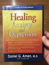 Healing Anxiety and Depression Daniel G. Amen DVD New And Sealed
