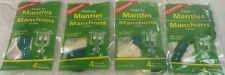 (4) 4 PKS (16)SINGLE TIE MANTLES UNIVERSAL FIT 1-2 MANTLE LIQUID/PROPANE LANTERN