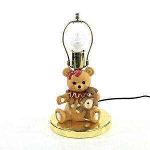 Teddy bear theme touch Lamp 12 inch