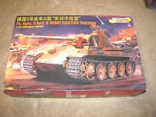 Shanghai Dragon Pz. Kpfw. V Augsf. G Night Fighting Panther 1:35 Tank