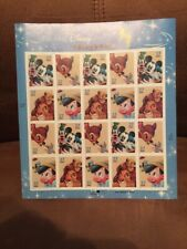 The Art of Disney Friendship, US Postage Stamps, Sheet Of 20 .37c Each