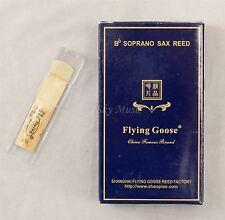 New Premium Flying Goose Soprano Saxophone 10/pc Per Box Reeds Strength #2.5