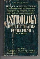 ASTROLOGY ~ AWARD A290X 1968 GLYN TRULY HOW TO PUT THE STARS TO  WORK FOR YOU